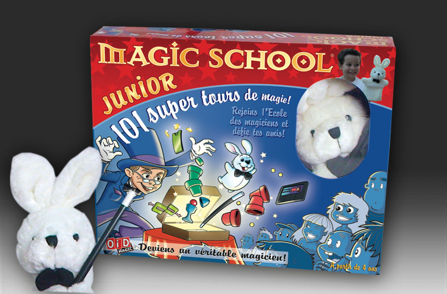 Coffret magic school junior - Tour de magie la femme coupee en deux ...