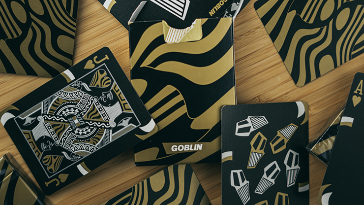 Gold Goblin Playing Cards -Gemini