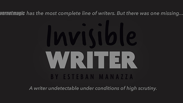 Invisible Writer  -Vernet