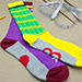 SOCKS- Michel Huot- DISPONIBLE A PARTIR DU 12 AOUT