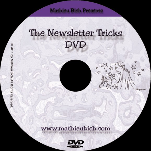 The newsletter Tricks-Mathieu Bich