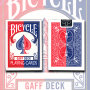 Gaff Effect Deck Bicycle (Bleu ou rouge)