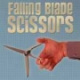 Scissors falling blade scissors