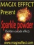 Gold Sparkle powder (poudre cascade or)