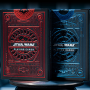 Jeu de cartes Star Wars-Bleu ou rouge