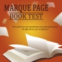 Marque Page Book Test